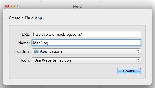 Creating a Fluid app